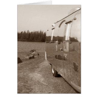 Reise-Folgekarten-Safarispiegel-Aluminium selfie Karte
