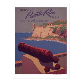 Reise-förderndes Plakat 2 Postkarte