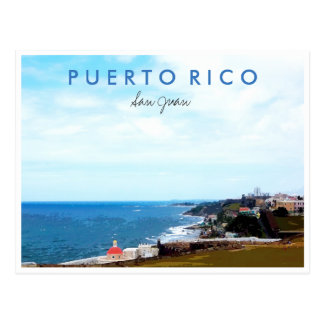 Reise-Foto-Andenken San Juan Puerto Rico Postkarte