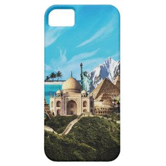 Reise-Fotocollage iphone Fall mit 7 Wundern Schutzhülle Fürs iPhone 5