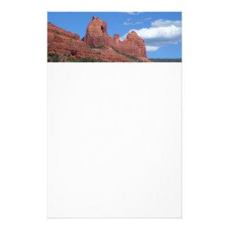 Reise-Fotografie Eagle-Felsen-I Sedona Arizona Briefpapier