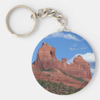 Reise-Fotografie Eagle-Felsen-I Sedona Arizona Schlüsselanhänger