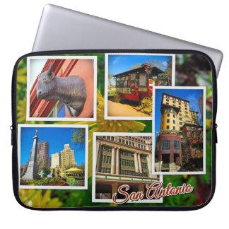 Reise-Fotos San Antonio Texas Laptop Sleeve