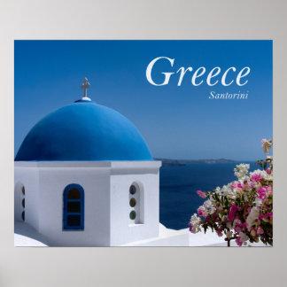 Reise Griechenlands Santorini Poster