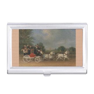 Reise in England, 1835. Visitenkarten-Dose