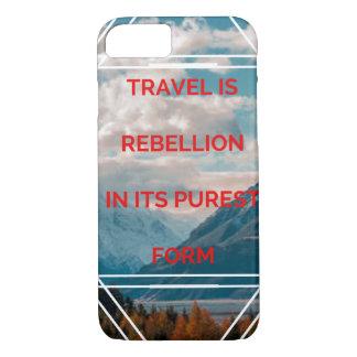 Reise ist Aufstand in seinem reinsten iPhone 8/7 Hülle