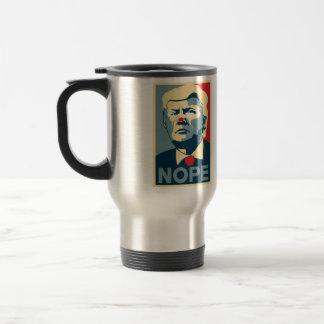 "Reise-Kaffee-Tasse Donald Trump ""NOPE""… Reisebecher"
