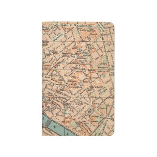 Reise-Karten-Zeitschriften-Taschen-Notizbuch Taschennotizbuch