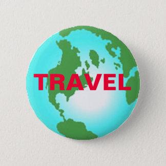 Reise-Knopf Runder Button 5,1 Cm