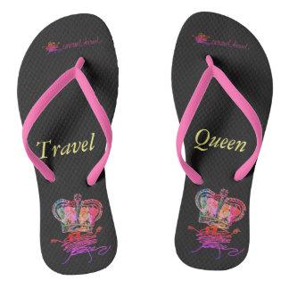Reise-Königin Flip Flops