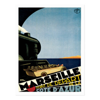 Reise Marseilles Frankreich Cote d'Azur Postkarte