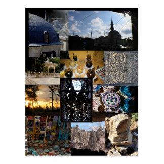 Reise-Montage Postkarten