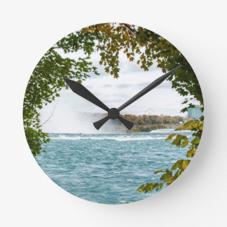 Reise nach Niagara- FallsWanduhr Runde Wanduhr