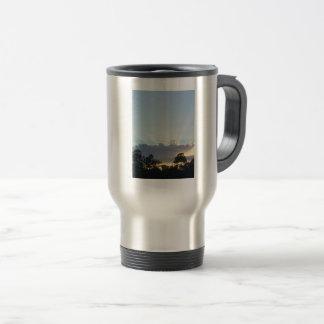 Reise/Pendler-Tasse mit einer Ansicht Reisebecher