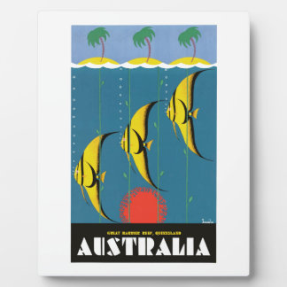 Reise-Plakat Dreißigerjahre Australiens Great Fotoplatte