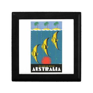 Reise-Plakat Dreißigerjahre Australiens Great Geschenkbox