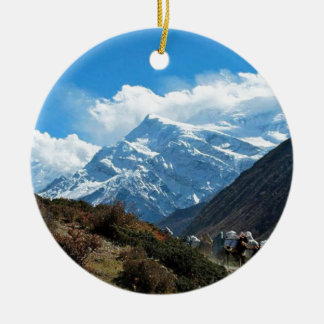Reise-Sommer Himalaja-Mount Everest-Indiens Nepal Keramik Ornament
