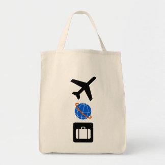 Reise-Symbole Tasche