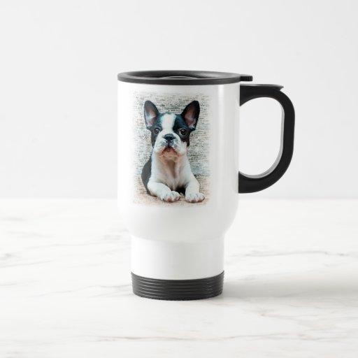 Reise-Tasse der französischen Bulldogge