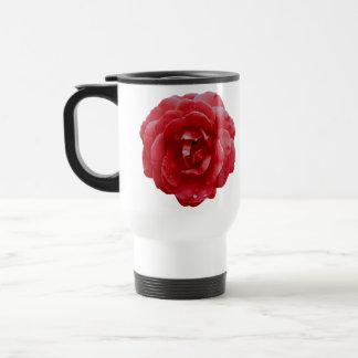 Reise-Tasse - rote Rote Rose Reisebecher