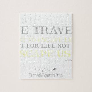 Reise-Zitat Puzzle