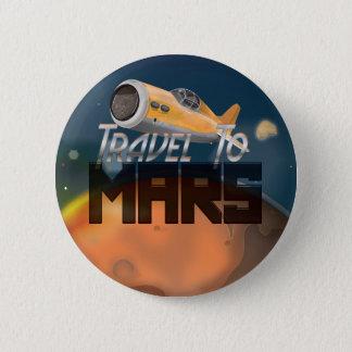Reise zu den Mars Runder Button 5,1 Cm
