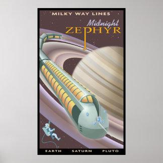 Reise zu Saturn Poster