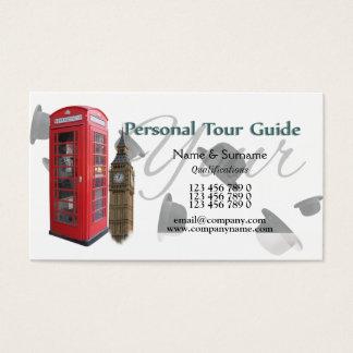 Reiseführer Großbritannien Briten Visitenkarte