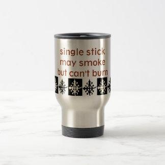 Reisekaffee-Tassen mit Symbol von EinheitAfrika Edelstahl Thermotasse
