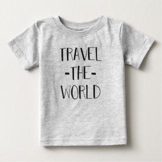 Reisen das Weltbaby T Baby T-shirt