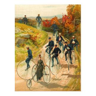 Reisen der Landschaft auf hohen Geschäftemachern Postkarte
