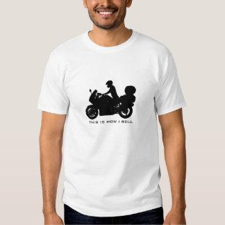 Reisen des Motorrad-T - Shirt