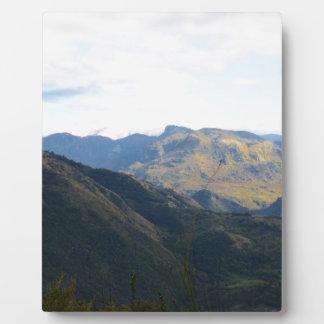 Reisen in Kalabrien Fotoplatte