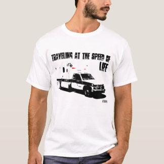 Reisen mit der Geschwindigkeit des LEBENS T-Shirt