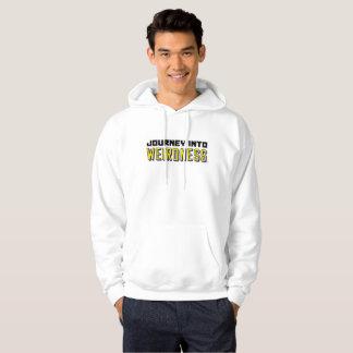 Reisen Sie in Weirdness-mit Kapuze Sweatshirt