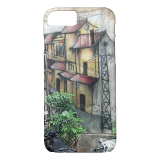 Reisen Sie mit mir? Hanoi-Graffiti iPhone 8/7 Hülle