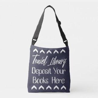 Reisende Bibliothek Tragetaschen Mit Langen Trägern