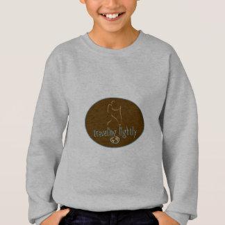 Reisender Hell-Wanderlust Sweatshirt