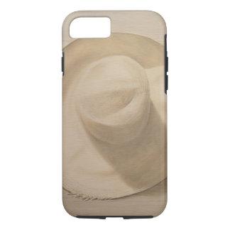 Reisender Hut auf staubiger Tabelle 2010 iPhone 8/7 Hülle