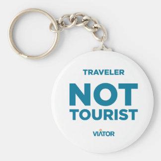 Reisender nicht touristischer Keychain Schlüsselanhänger