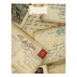Reisepapier für Reiseeinklebebuch Vollfarbige Flyer