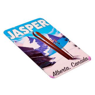 Reiseplakat Jaspis-Albertas Kanada Magnet