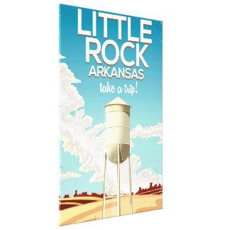 Reiseplakat Little Rocks Arkansas Leinwanddruck