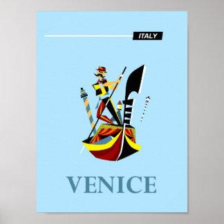 Reiseplakat Venedigs, Italien Poster