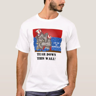 Reißen Sie die Wand von einer Party-Regel herunter T-Shirt