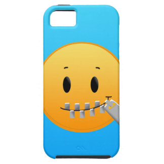 Reißverschluss Emoji iPhone 5 Etuis