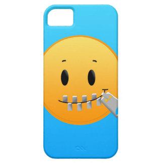 Reißverschluss Emoji iPhone 5 Hüllen