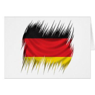 Reißwolf-Deutsch-Flagge Karte