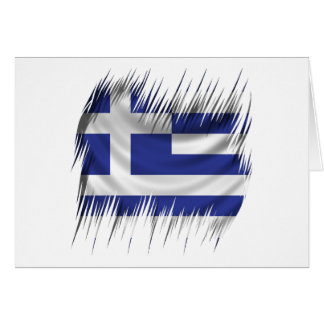 Reißwolf-Grieche-Flagge Karte