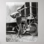 Reiten der Schienen, 1935